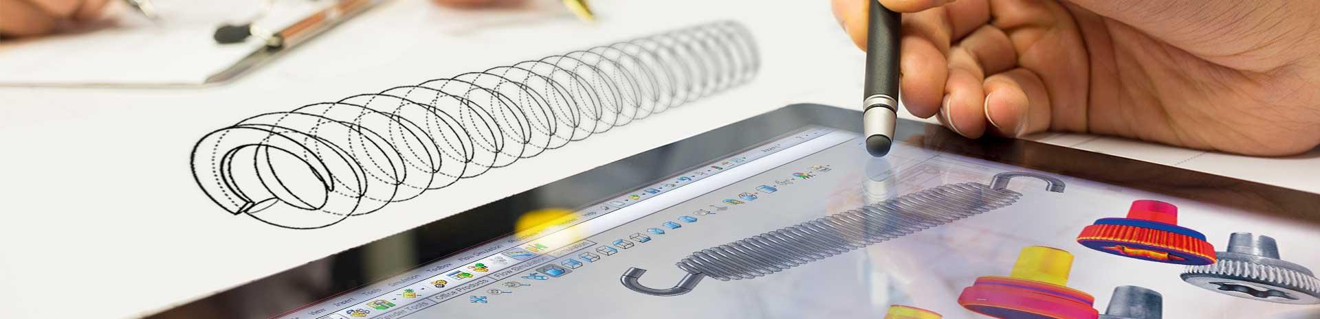 custom component design, custom spring design